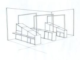 stand, gaëlle le boulc'h, designer, architecte, intérieur, décorateur