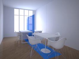bureaux, gaëlle le boulc'h, designer, architecte, intérieur, décorateur