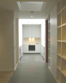 appartement, couloir, gaëlle le boulc'h, designer, architecte, intérieur, décorateur