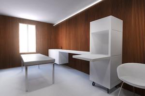 Cabine bois, gaëlle le boulc'h, designer, architecte, intérieur, décorateur