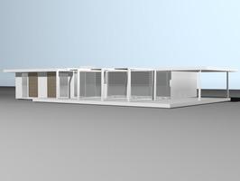 maison, préfabriquée, gaëlle le boulc'h, designer, architecte, intérieur, décorateur